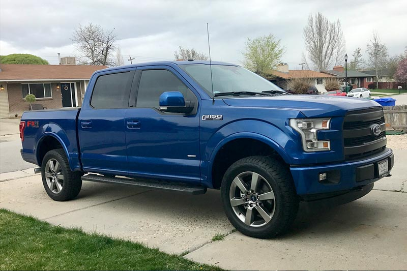 2015 2018 f150 4wd bilstein 5100 adjustable leveling shock kit 15f1504wd