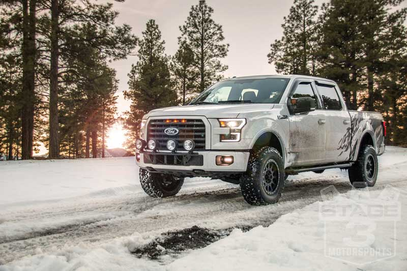 2015 2018 f150 n fab light bar for round lights f154lb hover to zoom mozeypictures Image collections