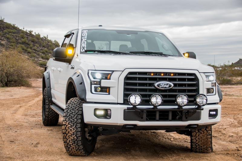 Lighting Basement Washroom Stairs: Stage 3's 2015 F150 3.5L EcoBoost XLT Project Truck