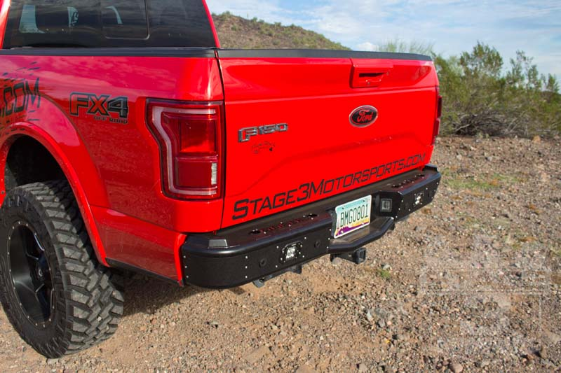 2015 F150 Rogue Racing Revolver Rear Bumper