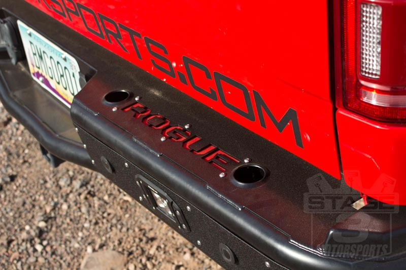 2015-2016 F150 Rogue Racing Revolver Off-Road Rear Bumper