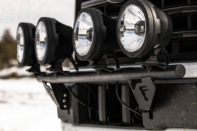2015-2018 F150 N-Fab Light Bar (For Round Lights) F154LB