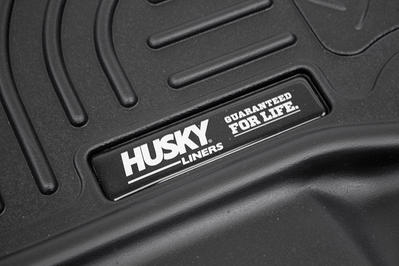Husky Floor Mats >> 2015 2019 F150 Raptor Husky Weatherbeater Front Floor Mats Black