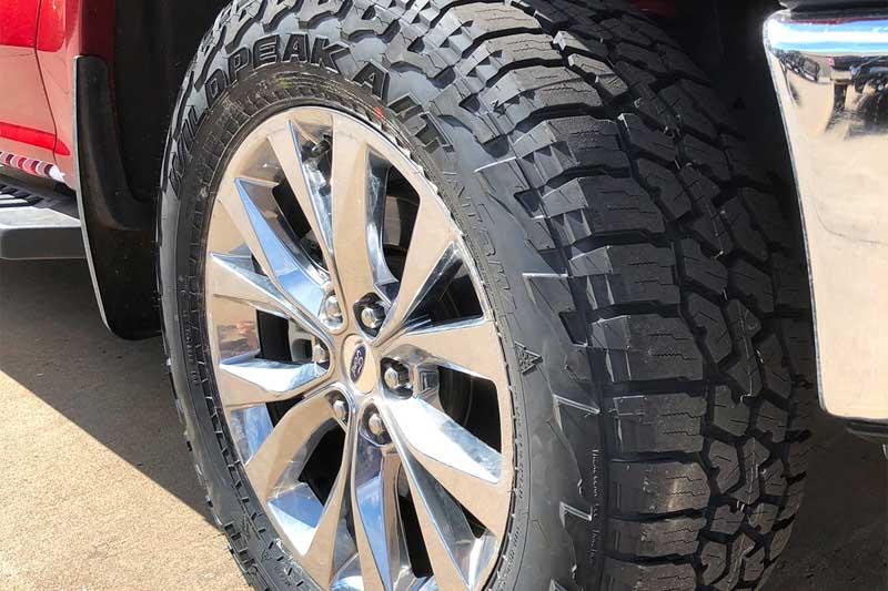 pr falken wild peak  terrain atw  road tire