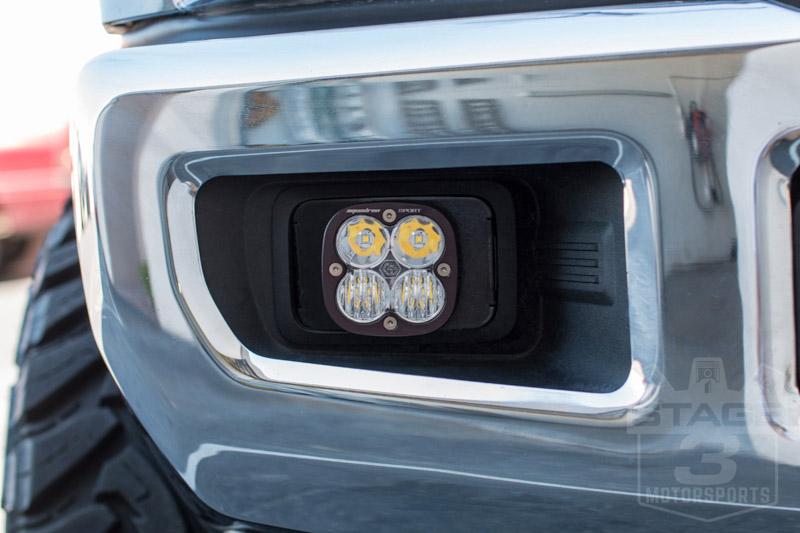 2017-2019 F250 & F350 Baja Designs Squadron Sport Driving/Combo Off-Road LED Light Fog Kit ...