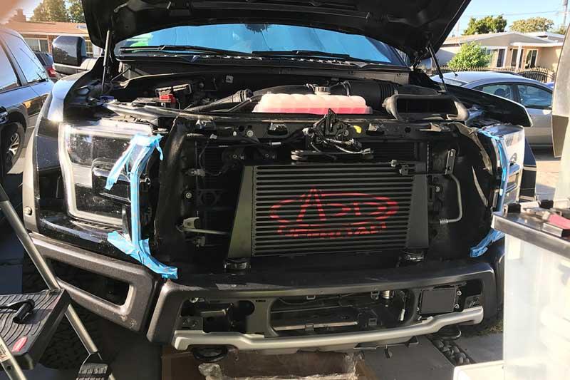 2017-2018 F150 & Raptor 3.5L EcoBoost Full-Race Freak-o-Boost Intercooler Kit FR-IC-ECO-RAP-17