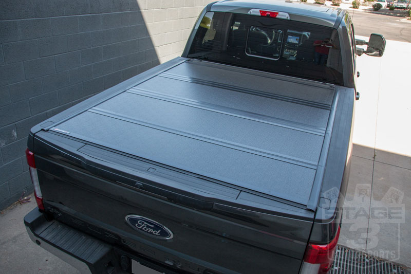 Hard Truck Bed Cover Fold Up