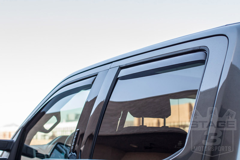 Weathertech Window Visors >> Stage 3's 2017 F250 Super Duty Project Truck Essential ...