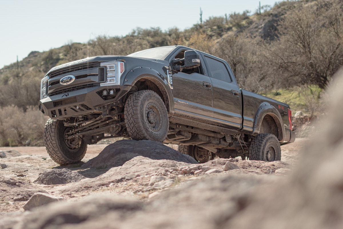 Stage 3's 2017 F250 6.7L Off-Roading