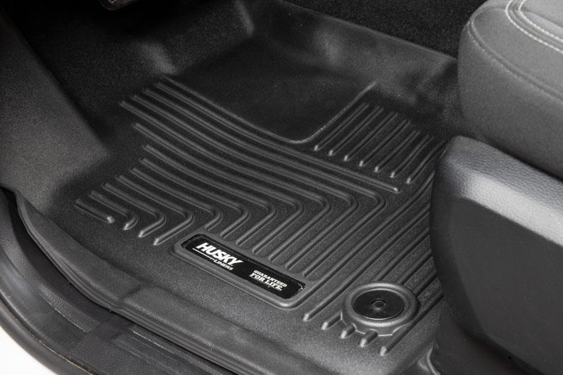 2019 Ford Ranger Husky Weatherbeater Front Floor Mats