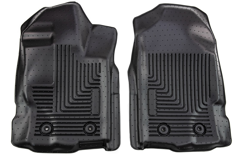 Husky Liners 13411 Black Fits 2019 Ford Ranger Weatherbeater Front Floor Liners