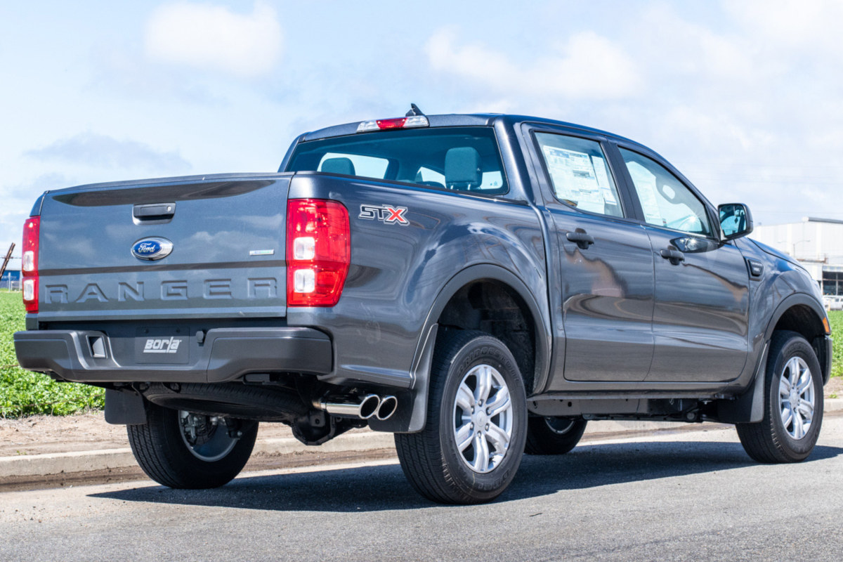 2019 Ford Ranger Borla Cat-Back Exhaust Systems Available for Pre-Order!