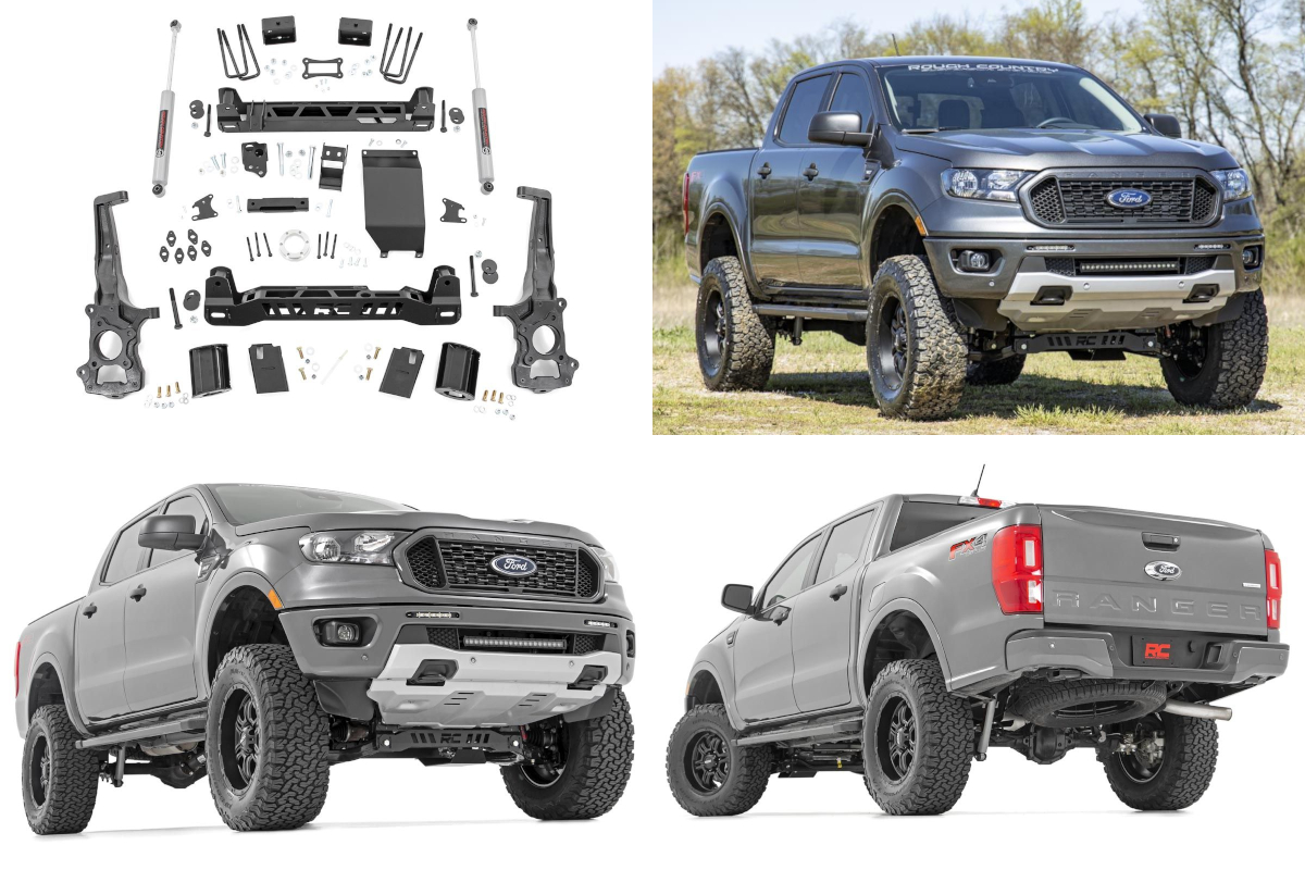 2019 Ford Ranger Rough Country Suspension Lift Kit Now Available!
