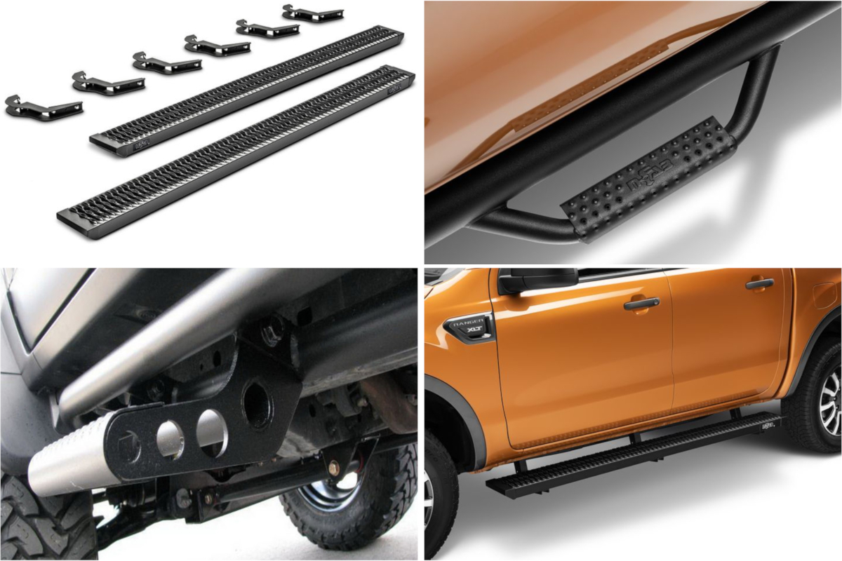 2019 Ford Ranger N-Fab Sidesteps & Running Boards Now Available!