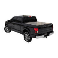 2019 Ford Ranger 5ft Bed Access Lomax Professional Hard Tri-Fold Tonneau Cover (Diamond Plate)