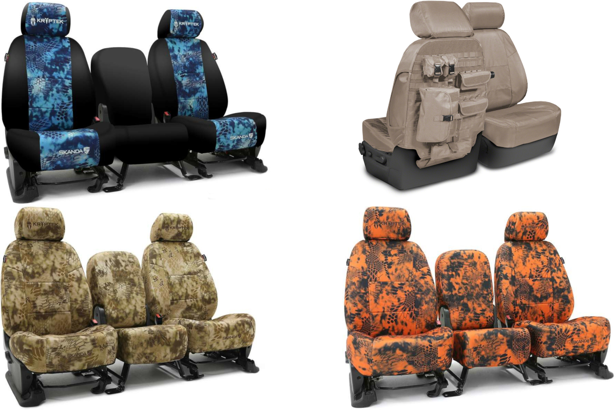 CoverKing Front & Rear Seat Covers!