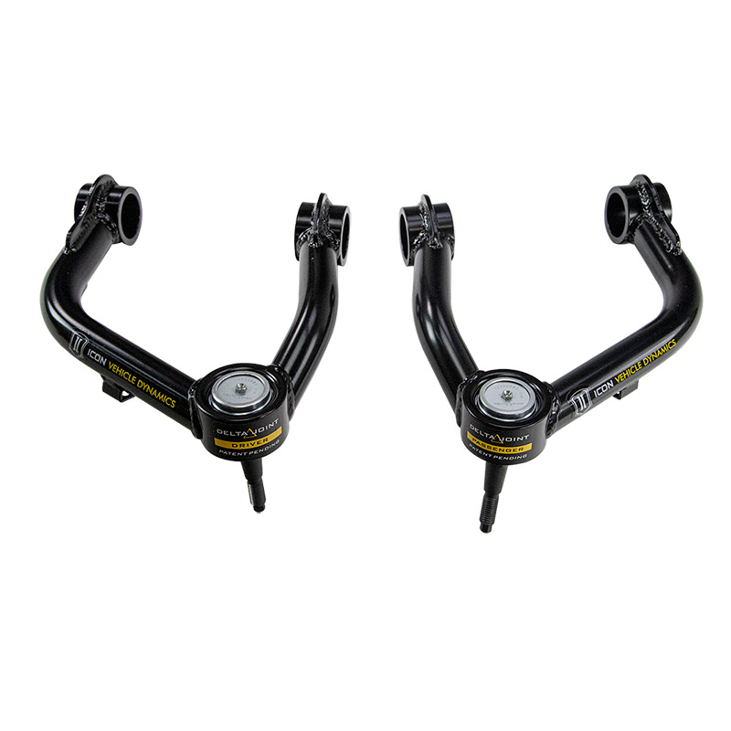 2019-2020 Ford Ranger ICON Tubular Delta Joint Upper Control Arms