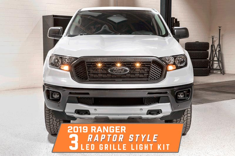 2019 Ford Ranger XLT & XL Custom Auto Works Raptor Style 3
