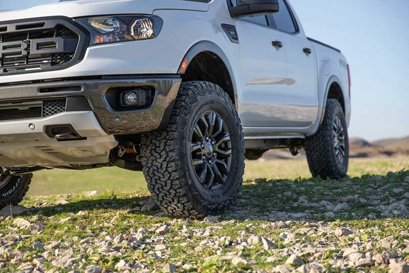 Stage 3's 2019 Ford Ranger Build Suspension