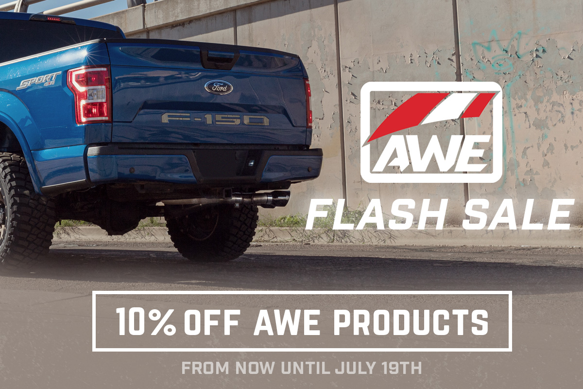 AWE Tuning 10% Off Flash Sale!