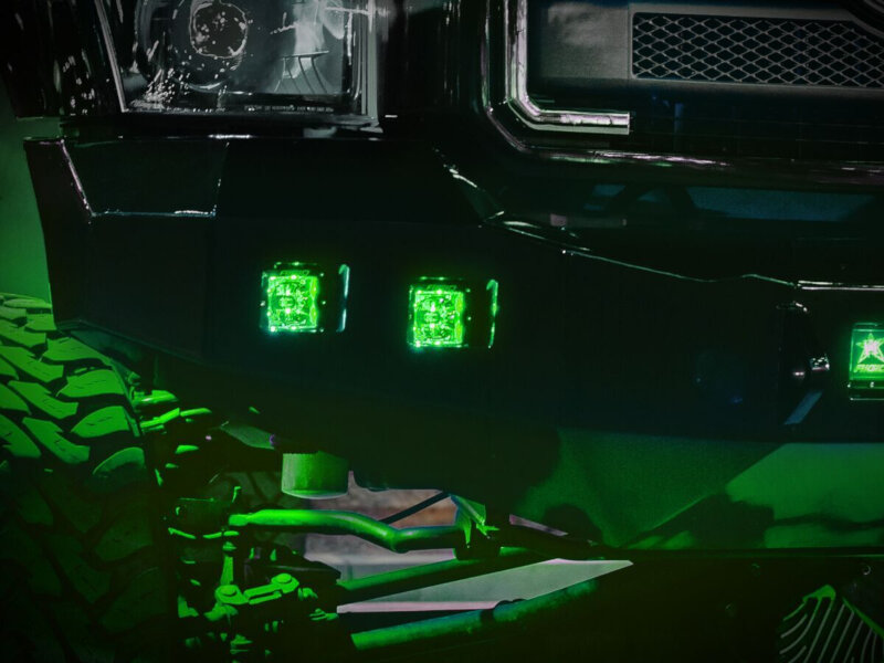 Rigid Industries Radiance Series Green Back Light Led Pod