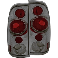 1997-2003 F150 ANZO Version 2 Taillights (Smoked Housing)