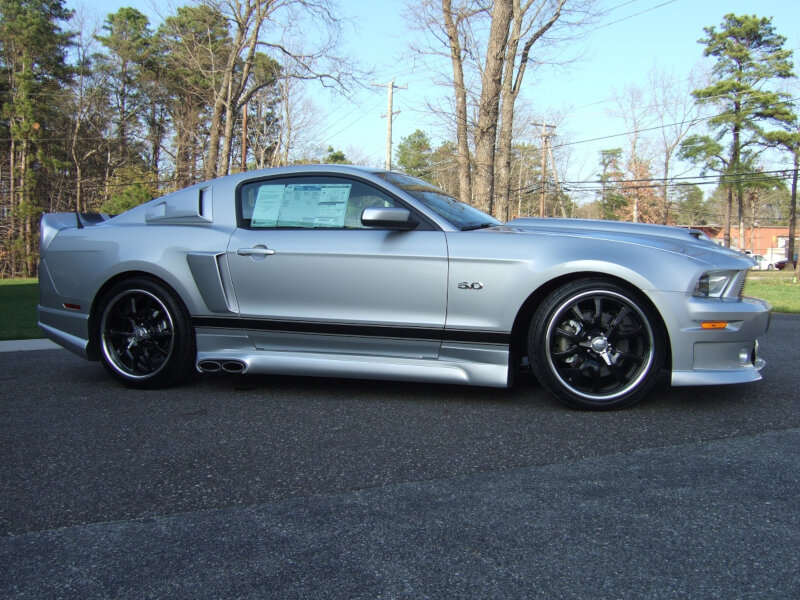 2010 2014 Mustang Cervini S Ducktail Wing 2218