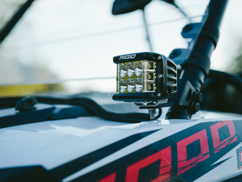 Rigid Industries D-SS Side Shooter Pro LED Light - White - Driving ...