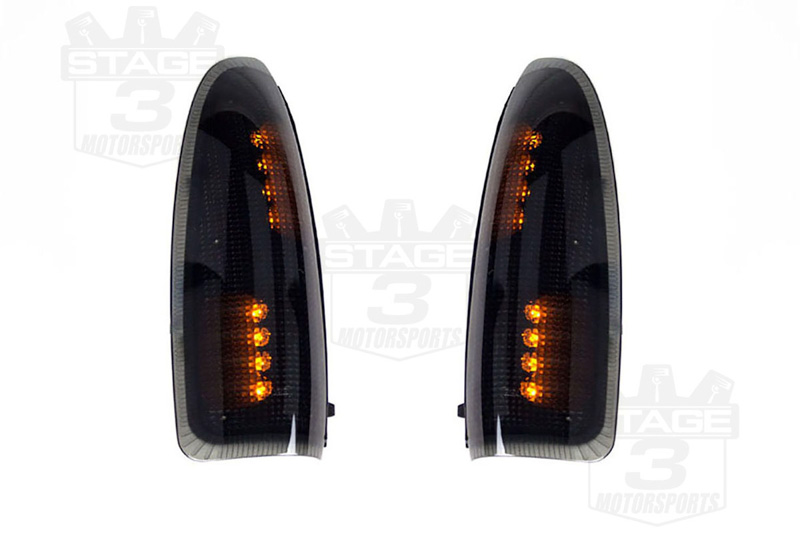 2003-2007 F250 & F350 Recon Smoked LED Mirror Markers
