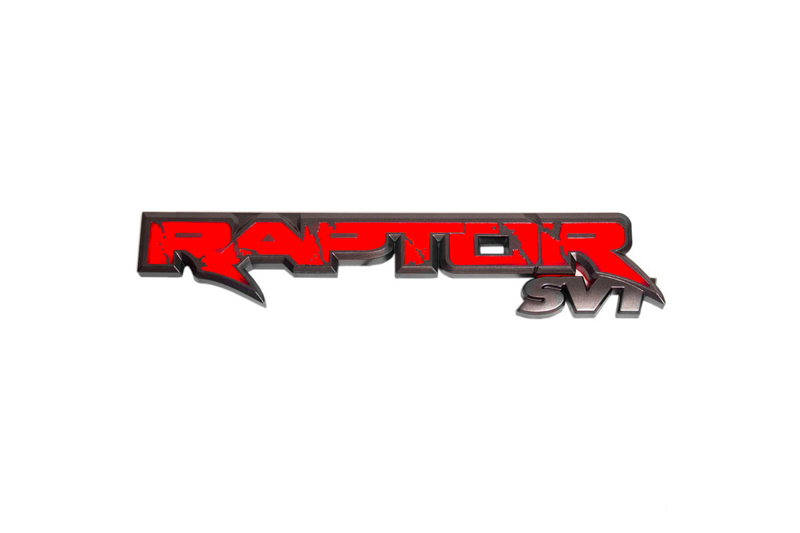 2010-2014 SVT Raptor Recon Illuminated Rear Tailgate Emblem