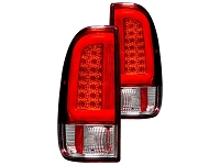 1999-2007 F250 & F350 RECON OLED Styleside Taillights (Red)