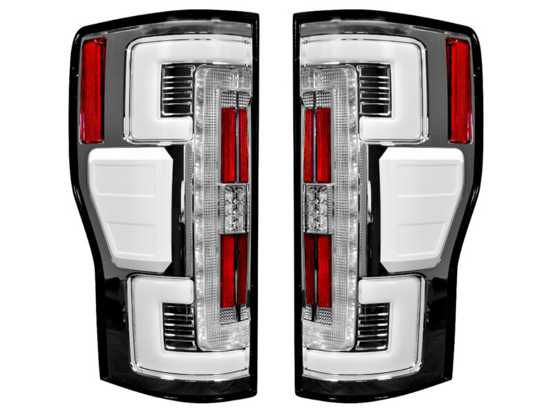 2017 2020 F250 F350 Recon Oled Taillights For Oem Leds Clear Lenses 264299ledcl