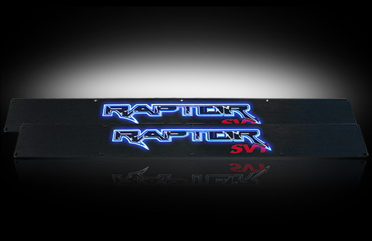 2010 2014 F150 Svt Raptor Illuminated Door Sill Plates