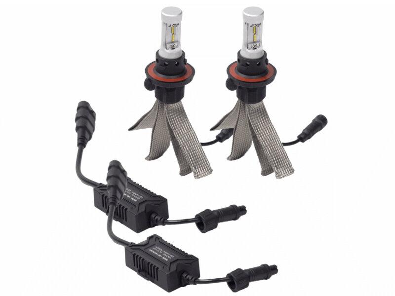 Add To My Lists. 2005 2016 F250 U0026 F350 Putco Silver Lux LED Replacement  Headlight Bulbs ...