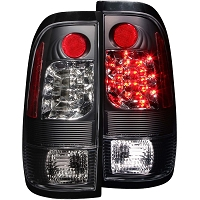 1997-2003 F150 ANZO LED Taillights (Black Housing)