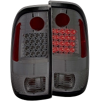 1997-2003 F150 ANZO LED Taillights (Smoked Housing)
