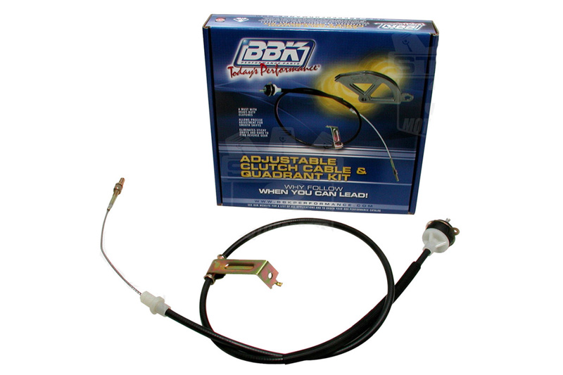 1996-2004 Mustang GT BBK Replacement Adjustable Clutch Cable