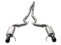 2015-2017 Mustang 2.3L EcoBoost Kooks Cat-Back w/ Y-Pipe (Black Tips)