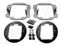 2007-2013 Jeep JK Rigid D-Series Fog Light Mounting Kit