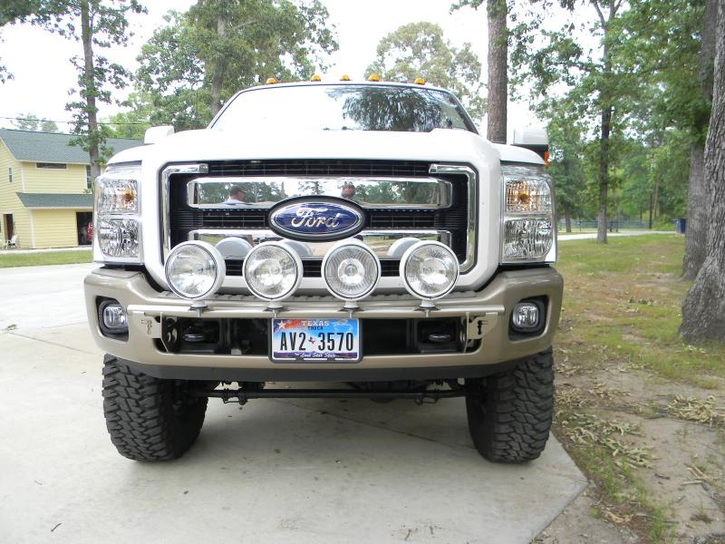 2011 2016 f250 f350 n fab front bumper light bar mount f114lb mozeypictures Images