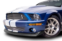 2007-2009 Shelby GT500 Cervini's B2 Chin Spoiler (Textured Black)