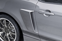 2010-2014 Mustang Cervini's C-Series Lower Side Scoops