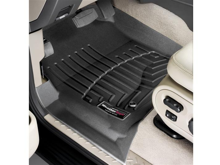 F Raptor Weathertech Front Floor Liner Digital Fit Grey