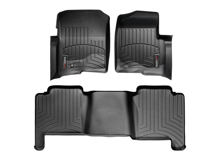 Add To My Lists   F Crew Cab Weathertech Floor Liner