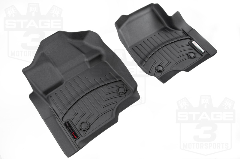 2015 2018 F150 Weathertech Front Floor Mats Digital Fit