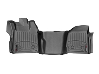 2013-2016 F250 & F350 Regular Cab WeatherTech Over Hump FloorLiner - Black (Fits Models w/out 4WD Floor Shifters and w/ Vinyl Flooring)