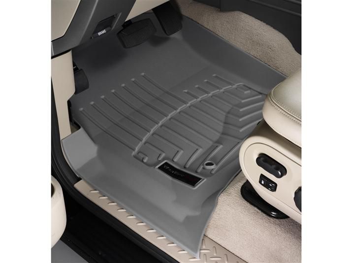 2004 2008 F150 Crew Cab Weathertech Floor Liner Digital Fit Grey 46005 1 2