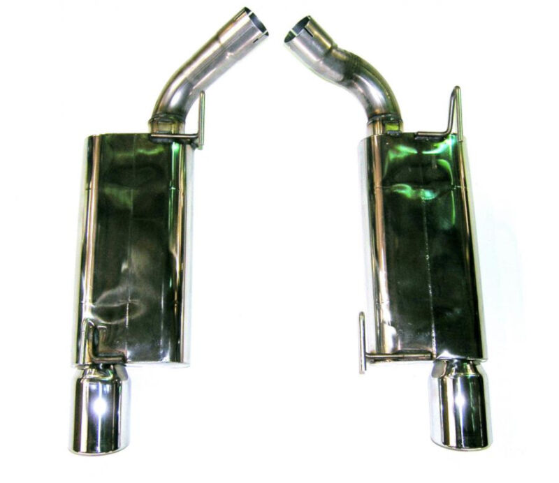 2005-2009 Mustang GT Bassani Axle-back Exhaust System (Stainless Steel)