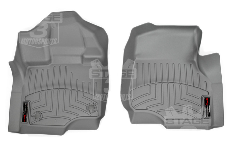 15-20 F150 & Raptor WeatherTech Grey Digital Fit Front Liners