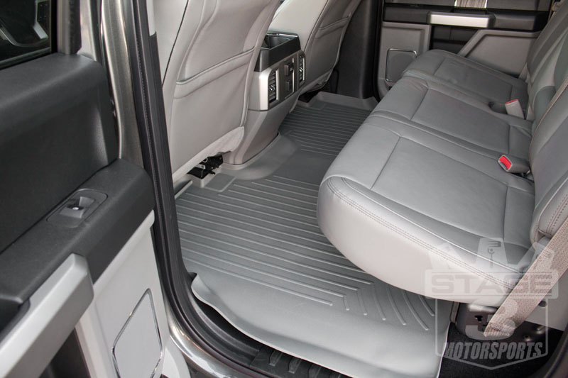 F Weathertech Digitalfit Rear Floor Mat
